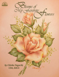 design by Chieko Yuguchi Decorative Painting Book Blooms of My Favorite  by Chieko Yuguchi